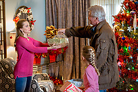 I'll Be Home for Christmas (2016)<br /> Mena Suvari, Giselle Eisenberg &amp; James Brolin<br /> *Filmstill - Editorial Use Only*<br /> CAP/KFS<br /> Image supplied by Capital Pictures