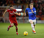 06.02.2019: Aberdeen v Rangers: Graeme Shinnie and Ross McCrorie