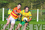 Liam Murphy Gveeveguilla John Crowley N'town.Gneeveguilla defeated Newcestown 0-12 to 1-8 in the Munster Intermediate Club Football Semi Final at Gneeveguilla on Sunday.