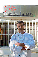 jose julio vintem, chef at restaurant tomba lobos, Portalegre alentejo portugal