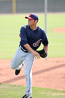 Brian Grening, Cleveland Indians 2010 minor league spring training..Photo by:  Bill Mitchell/Four Seam Images.
