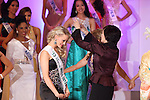 December 17, 2013, Tokyo, Japan - Third-place Miss New Zealand Casey Radley and spouse of PM of Japan Akie Abe at the 2013 Miss International beauty pageant, Tokyo, Japan, 17 December 2013. (Photo by Motoo Naka/AFLO)