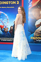 """LOS ANGELES - JAN 6:  Allison Holker at the """"Paddington 2"""" US Premiere at Village Theater on January 6, 2018 in Westwood, CA"""