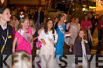 The Rose of Tralee parade on Saturday night.
