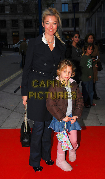 "TAMARA BECKWITH & GUEST.At ""The Snowman"" Press Night, .Peacock Theatre, London, England, .December 9th 2006..full length child kid little girl.CAP/CAN.©Can Nguyen/Capital Pictures"
