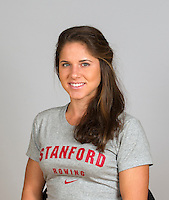 Christine Cavallo with Stanford women's rowing ltw team