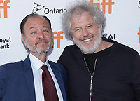 """TORONTO, ONTARIO - SEPTEMBER 08: Fisher Stevens and Malcom Venville attend the """"And We Go Green"""" premiere during the 2019 Toronto International Film Festival at Ryerson Theatre on September 08, 2019 in Toronto, Canada. Photo: <br /> CAP/MPI/IS/PICJER<br /> ©PICJER/IS/MPI/Capital Pictures"""