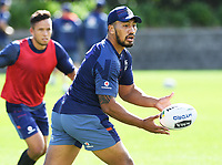 Albert Vete, <br /> Vodafone Warriors training session. Mt Smart Stadium, Auckland, New Zealand. NRL Rugby League. Tuesday 13 March 2018 &copy; Copyright photo: Andrew Cornaga / www.photosport.nz