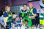Christine McCarthy, Peter Foley,, and Bridget Delaney from the Killarney Cardiac First Responders at  Kerry Expo in Killarney Community College on Friday Evening