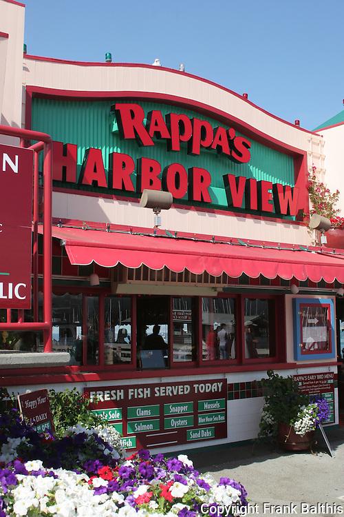 Rappa's Harbor View restaurant on Fisherman's Wharf