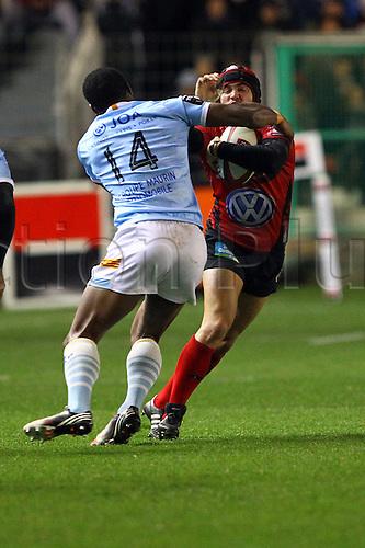 30.11.2013. Toulon, France. Top 14 rugby union. Toulon versus Perpignan.  alexis palisson (rct)