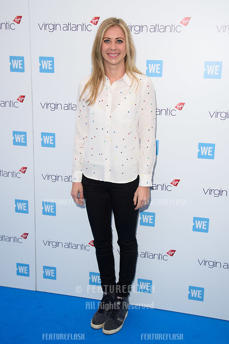 Holly Branson arriving for WE Day 2018 at Wembley Arena, London, UK. <br /> 07 March  2018<br /> Picture: Steve Vas/Featureflash/SilverHub 0208 004 5359 sales@silverhubmedia.com