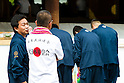 August 15, 2011 - Tokyo, Japan - Members of Japan's right wing party pay their respects at Yasukuni Shrine. Thousands of people visit this shrine to pay their respect to the Japanese war soldiers who died fighting in World War II which marks the 66th anniversary of the end of WWII. (Photo by Christopher Jue/AFLO)