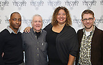 Christopher Windom, John Kander, Liesl Tommy and Greg Pierce attends the photocall for the Vineyard Theatre production of 'Kid Victory' at Ripley Grier on January 5, 2017 in New York City.