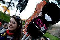 Roma, 8 Marzo 2017<br /> Sciopero globale delle donne, corteo a Roma contro  violenza di genere  e  sfruttamento .