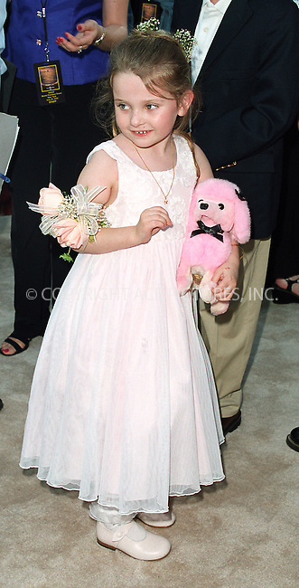 "Abigail Breslin arrives at the world premiere of Touchstone Pictures' movie, ""Signs"" at Lincoln Center, New York. July 29, 2002. Please byline: Alecsey Boldeskul/NY Photo Press.   ..*PAY-PER-USE*      ....NY Photo Press:  ..phone (646) 267-6913;   ..e-mail: info@nyphotopress.com"