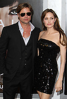 "20 September 2016 - Los Angeles, CA - Angelina Jolie Pitt has filed for divorce from Brad Pitt. Jolie Pitt, 41, filed legal docs Monday citing irreconcilable differences. Jolie Pitt requested physical custody of the couple's shared six children – Maddox, Pax, Zahara, Shiloh, Vivienne, and Knox – asking for Pitt to be granted visitation, citing legal documents. File Photo: 19 July 2010 - Hollywood, California - Brad Pitt and Angelina Jolie. ""Salt"" Los Angeles Premiere held at Grauman's Chinese Theatre. Photo Credit: Charles Harris/AdMedia"