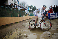 World Cup leader Kevin Pauwels (BEL/Sunweb-Napoleon Games)<br /> <br /> Zolder CX UCI World Cup 2014