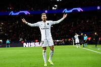 celebration des joueurs du PSG apres le goal de NEYMAR JR (PSG)<br /> Parigi 28-11-2018 <br /> Paris Saint Germain - Liverpool Champions League 2018/2019<br /> Foto JB Autissier / Panoramic / Insidefoto <br /> ITALY ONLY