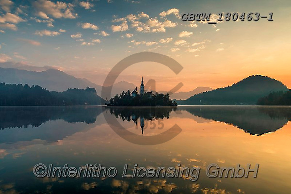 Tom Mackie, LANDSCAPES, LANDSCHAFTEN, PAISAJES, photos,+Assumption of Mary's Pilgrimage Church, Europa, Europe, European, Lake Bled, Slovenia, Tom Mackie, atmosphere, atmospheric, c+hurch, churches, color, colorful, colour, colourful, destination, destinations, dramatic outdoors, horizontal, horizontals, l+andscape, landscapes, mirror image, mood, moody, peace, peaceful, reflect, reflecting, reflection, reflections, scenery, scen+ic, serene, serenity, skies, sky, sunrise, sunrises, sunset, sunsets, time of day, tourist,Assumption of Mary's Pilgrimage Ch+,GBTM180463-1,#l#, EVERYDAY