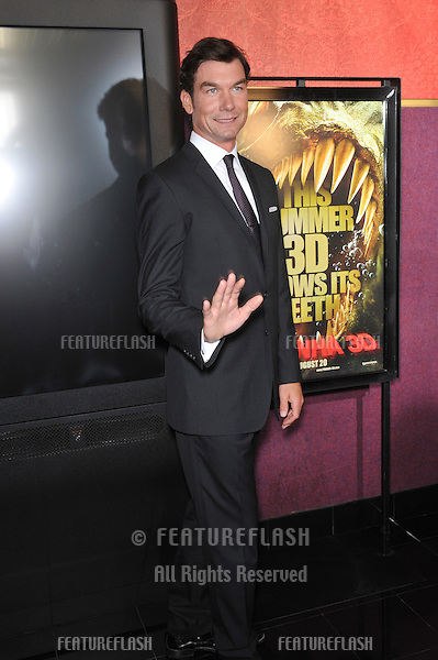 "Jerry O'Connell at the Los Angeles premiere of his new movie ""Piranha 3D"" at Mann's Chinese 6 Theatre, Hollywood..August 18, 2010  Los Angeles, CA.Picture: Paul Smith / Featureflash"