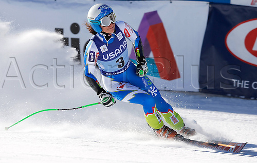 30.11.2013. Beaver Creek, Colorado, USA. Womens Super G downhill skiing world cup. Ilka Stuhec (SLO).