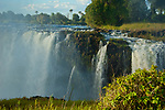 Victoria Falls, Mosi-os-Tunya, from the Zimbabwe side