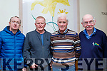 L-R John Browne, Brendan Shanahan, Brendan Conway and Mike O'Connor at the Kingdom Veteren,Vintage and Classis Car Club AGM last Sunday in the Ballyroe Heights Hotel, Tralee.