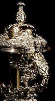 100427 Rugby - Rugby World Cup Webb Ellis Trophy