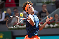 Dominic Thiem during the ATP final of Mutua Madrid Open Tennis 2017 at Caja Magica in Madrid, May 1, 2017. Spain. /NortePhoto.com