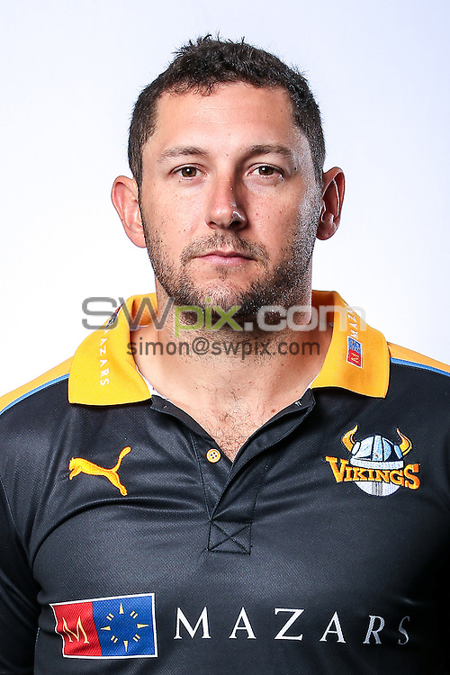 Picture by Alex Whitehead/SWpix.com - 03/04/2015 - Cricket - Yorkshire CCC Headshots - Headingley Stadium, Leeds, England - Yorkshire's Tim Bresnan