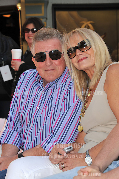 Richard & Claire Pattinson, parents of Robert Pattinson, at hand & footprint ceremony honoring the Twilight Saga stars at Grauman's Chinese Theatre, Hollywood..November 3, 2011  Los Angeles, CA.Picture: Paul Smith / Featureflash