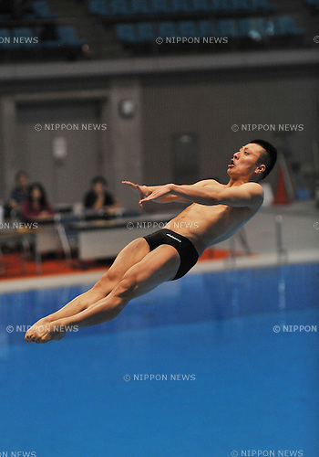 Ken Terauchi, APRIL 2, 2010 - Diving : 2011 Diving representative selection match for international competitions, Men's 3 meter springboard  at Sagamihara Green Pool in Kanagawa, Japan. (Photo by Atsushi Tomura/AFLO SPORT) [1035].