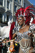 Notting Hill traditionally hosts Europe's biggest street party over the Bank Holiday weekend in August. More than a million spectators lined the carnival route over the two days.