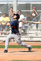 Adam White, Cleveland Indians 2010 minor league spring training..Photo by:  Bill Mitchell/Four Seam Images.