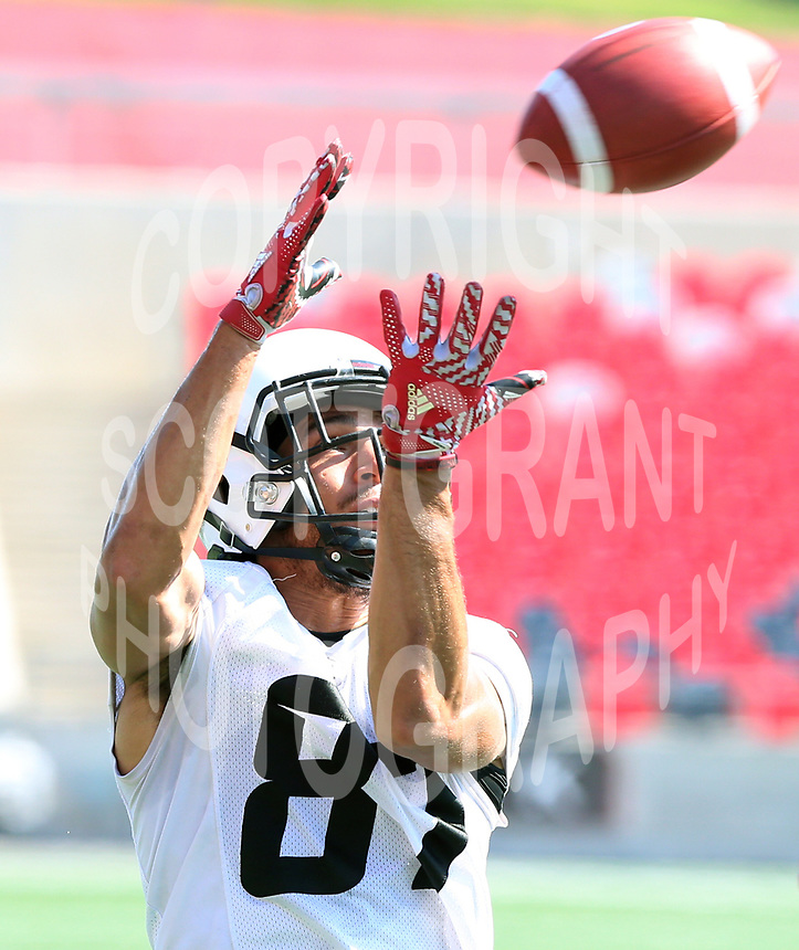 Josh Stangby-Ottawa RedBlacks-14sept2017: Photo: Scott Grant