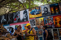 HAVANA, CUBA - SEPTEMBER 08: Cuban Street vendors sell their wares in a market on 8th of September, 2015 in Havana, Cuba. <br /> <br /> Daniel Berehulak for The New York Times