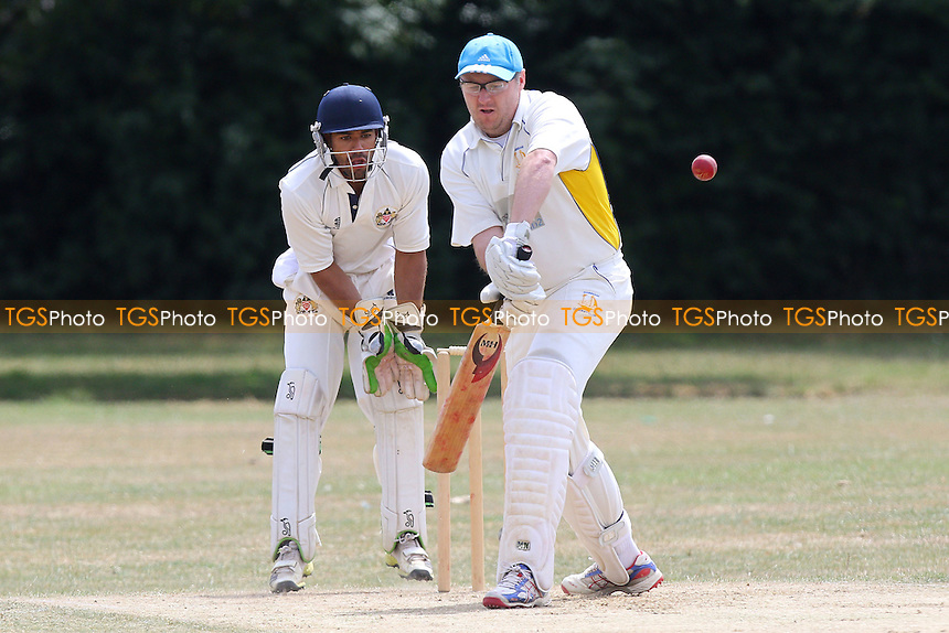 Hornchurch Athletic CC (fielding) vs Rainham CC during the Mid-Essex Cricket League Match at Hylands Park on 18/07/2015 - MANDATORY CREDIT: Gavin Ellis/TGSPHOTO