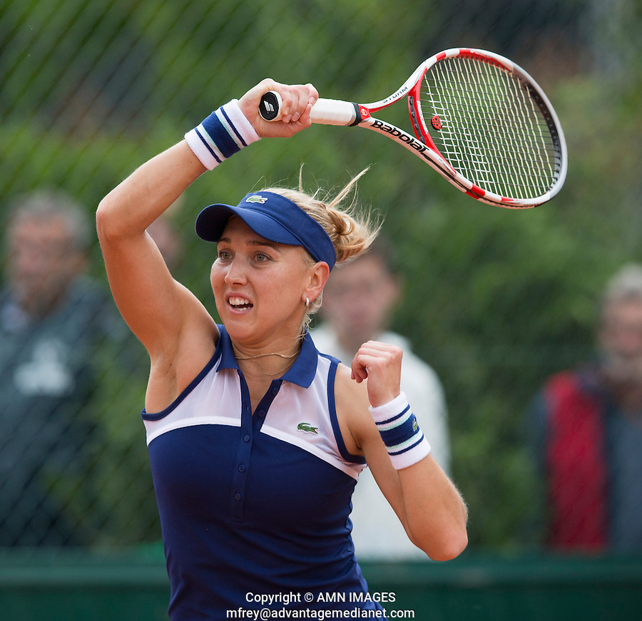 ELIENA VESNINA (RUS)<br /> <br /> Tennis - French Open 2014 -  Toland Garros - Paris -  ATP-WTA - ITF - 2014  - France -  26 May 2014. <br /> <br /> &copy; AMN IMAGES