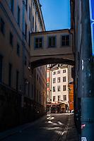 Street scenes from Gamla stan in Stockholm