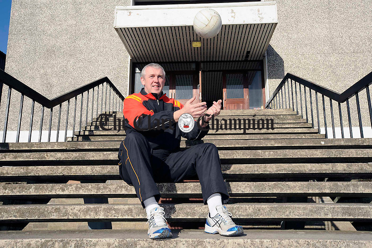Eugene Young at the Clare GAA coaching seminar at St Flannan's college. Photograph by John Kelly.