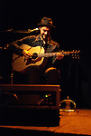 Acadia singer Pascal Lejeune closed his show with a memorable solo. Magdalen Islands, Canada, 2010