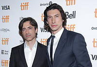 """TORONTO, ONTARIO - SEPTEMBER 08: Adam Driver - Noah Bauman attend the """"Marriage Story"""" premiere during the 2019 Toronto International Film Festival at Winter Garden Theatre on September 08, 2019 in Toronto, Canada. <br /> CAP/MPI/IS/PICJER<br /> ©PICJER/IS/MPI/Capital Pictures"""