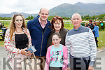 Aoife Foley Ballylongford, Jerry Hannon Listowel, Carina, Anna and Mike Foley Ballylongford  at the Killarney races on Sunday