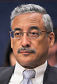 United States Representative Bobby Scott (Democrat of Virginia) a member of the U.S. House Committee on Standards of Official Conduct Adjudicatory Subcommittee listens during an organizational meeting to discuss the charges against U.S. Representative Charlie Rangel (Democrat of New York) in the Capitol in Washington, D.C. on Thursday, July 29, 2010..Credit: Ron Sachs / CNP..(RESTRICTION: NO New York or New Jersey Newspapers or newspapers within a 75 mile radius of New York City)