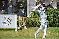 Brandon Grace (RSA) watches his tee shot on 10 during round 2 of the World Golf Championships, Mexico, Club De Golf Chapultepec, Mexico City, Mexico. 3/2/2018.<br /> Picture: Golffile | Ken Murray<br /> <br /> <br /> All photo usage must carry mandatory copyright credit (&copy; Golffile | Ken Murray)