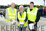 Donal O'Neill, Tom Lawlor and Christy O'Mahony who helped organise the Pattern day Mass at our Lady's Well in Ballyheigue on Tueday