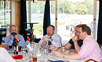 Hospitality before the pre season friendly match between London Scottish & Chinnor at Richmond Athletic Ground, Richmond, United Kingdom on 24 August 2019. Photo by Andrew Aleksiejczuk / PRiME Media Images.