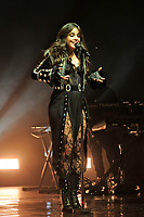 LONDON, ENGLAND - JUNE 12: Camila Cabello performing at Brixton Academy on June 12, 2018 in London, England.<br /> CAP/MAR<br /> &copy;MAR/Capital Pictures