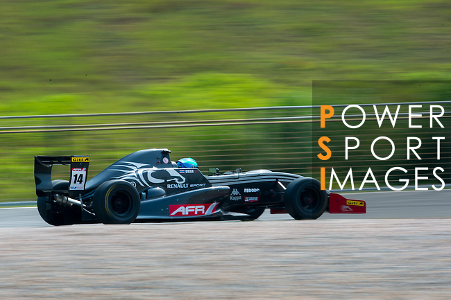 Umar Bin Abdul Rahman of S&D Motorsports during the 2015 Pan Delta Super Racing Festival at Zhuhai International Circuit on September 18, 2015 in Zhuhai, China.  (Photo by Moses Ng/Power Sport Images/Getty Images)
